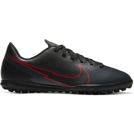 Buty piłkarskie Nike Mercurial Vapor 13 Club Tf Junior AT8177 060 czarne czarne