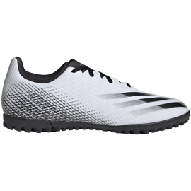 Buty piłkarskie adidas X GHOSTED.4 Tf FW6789 białe białe