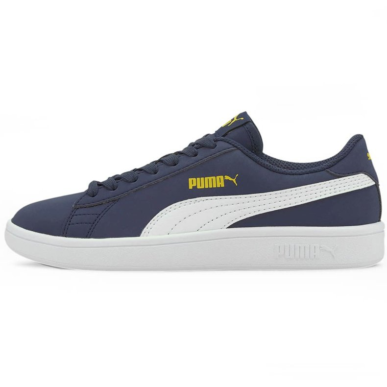 Buty dla dzieci Puma Smash v2 Buck granatowe 365182 22