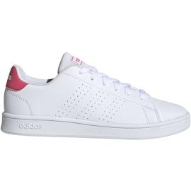Buty dla dzieci adidas Advantage K białe EF0211