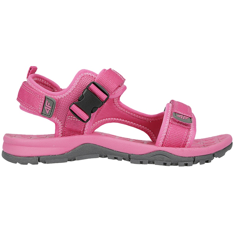 Sandały dla dziewczynki 4F fuksja HJL20 JSAD002 55S różowe