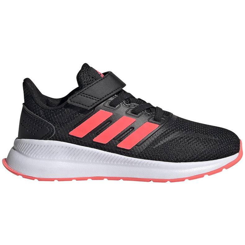 Buty dla dzieci adidas Runfalcon C czarne FW5138