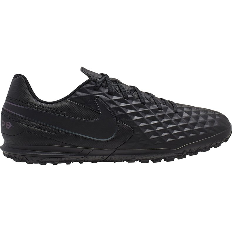 Buty piłkarskie Nike Tiempo Legend 8 Club Tf AT6109 010 czarne czarne