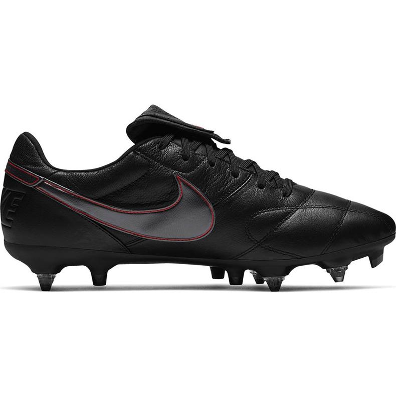 Buty piłkarskie Nike Premier Ii SG-PRO Ac 921397 061 czarne czarne