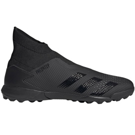 Buty piłkarskie adidas Predator 20.3 Ll Tf czarne EF1652