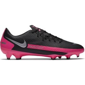 Buty piłkarskie Nike Phantom Gt Academy FG/MG CK8460 006 czarny,różowy czarne