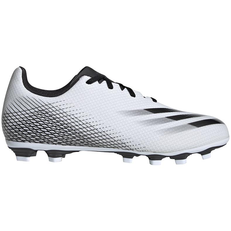 Buty piłkarskie adidas X GHOSTED.4 FxG FW6783 białe białe