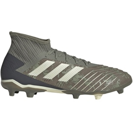 Buty piłkarskie adidas Predator 19.2 Fg EF8207 zielone wielokolorowe