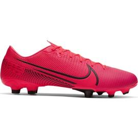 Buty piłkarskie Nike Mercurial Vapor 13 Academy FG/MG AT5269 606 czerwone czerwone