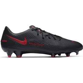 Buty piłkarskie Nike Phantom Gt Academy FG/MG CK8460 060 białe czarne