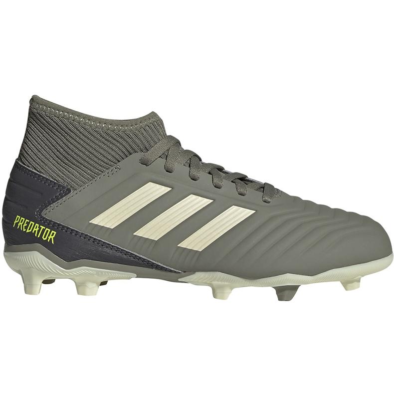 Buty piłkarskie adidas Predator 19.3 Fg Jr EF8215 szare