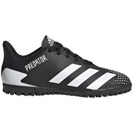 Buty piłkarskie adidas Predator 20.4 Tf Junior FW9223 czarne czarne