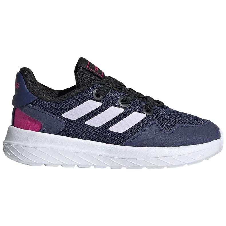 Buty dla dzieci adidas Archivo K granatowe EH0542