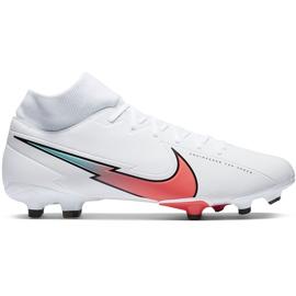 Buty piłkarskie Nike Mercurial Superfly 7 Academy FG/MG AT7946 163 białe białe