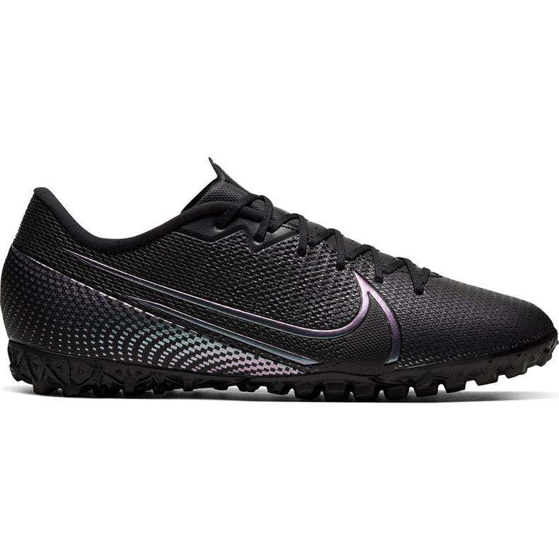 Buty piłkarskie Nike Mercurial Vapor 13 Academy Tf AT7996 010 czarne czarne