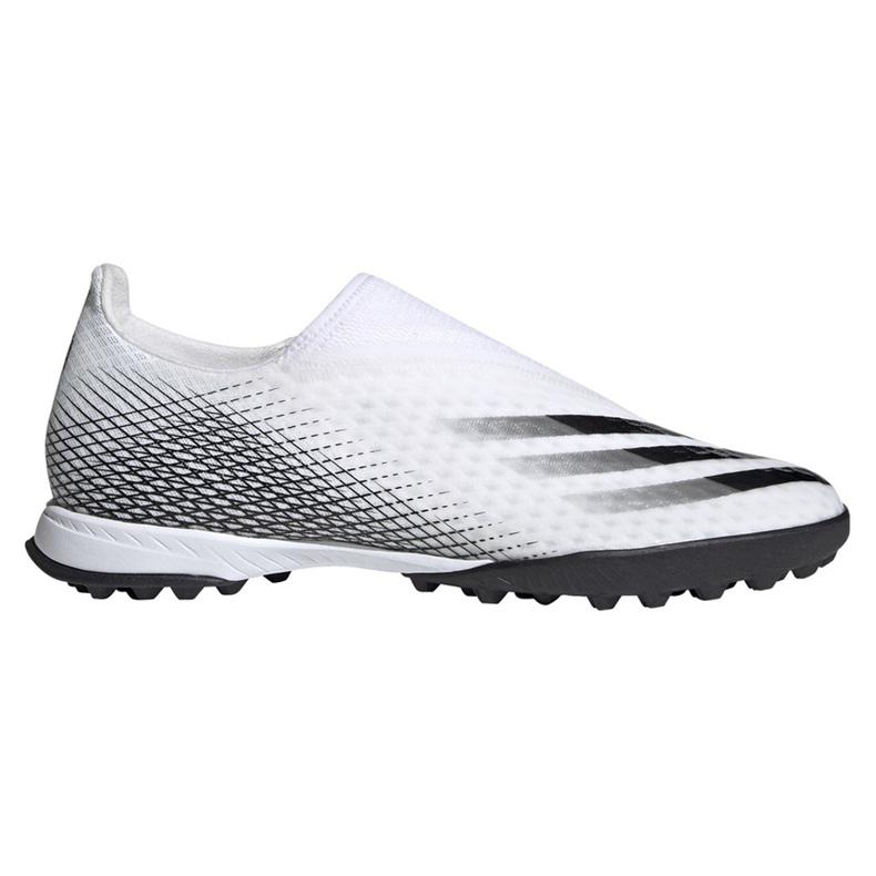 Buty piłkarskie adidas X GHOSTED.3 Ll Tf EG8158 białe białe
