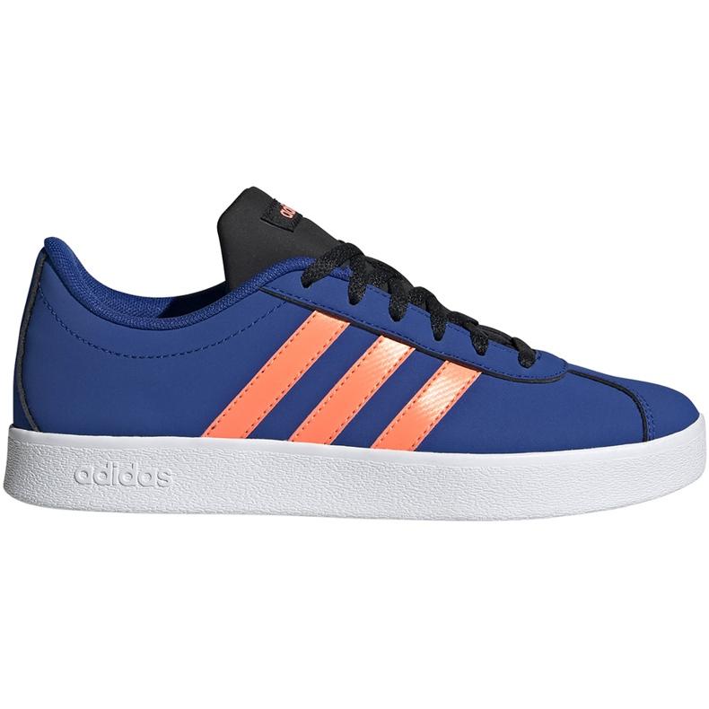 Buty dla dzieci adidas Vl Court 2.0 K niebieskie EG2003