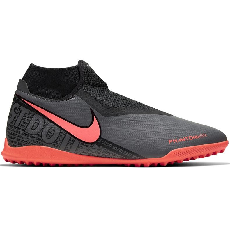 Buty piłkarskie Nike Phantom Vsn Academy Df Tf AO3269 080 szare szare