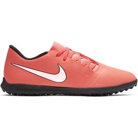 Buty piłkarskie Nike Phantom Venom Club Tf AO0579 810 pomarańczowe biały, pomarańczowy(łososiowy)