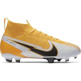 Buty piłkarskie Nike Mercurial Superfly 7 Elite Fg Junior AT8034 801 żółte żółte