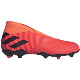 Buty piłkarskie adidas Nemeziz 19.3 Ll Fg EH1092 pomarańczowe pomarańczowe