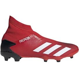 Buty piłkarskie adidas Predator 20.3 Ll Fg EE9554 czerwone czerwone