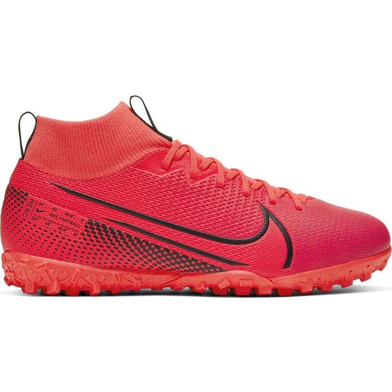 Buty piłkarskie Nike Mercurial Superfly 7 Academy Tf AT7978 606 czerwone czerwone