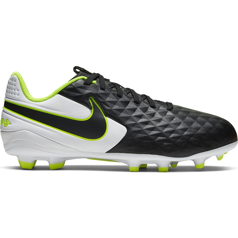 Buty piłkarskie Nike Tiempo Legend 8 Academy FG/MG Junior AT5732 007 czarne czarne
