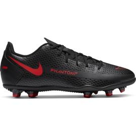 Buty piłkarskie Nike Jr Phantom Gt Club FG/MG CK8479 060 czarne czarne