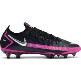 Buty piłkarskie Nike Phantom Gt Elite Fg CK8439 006 czarne czarne