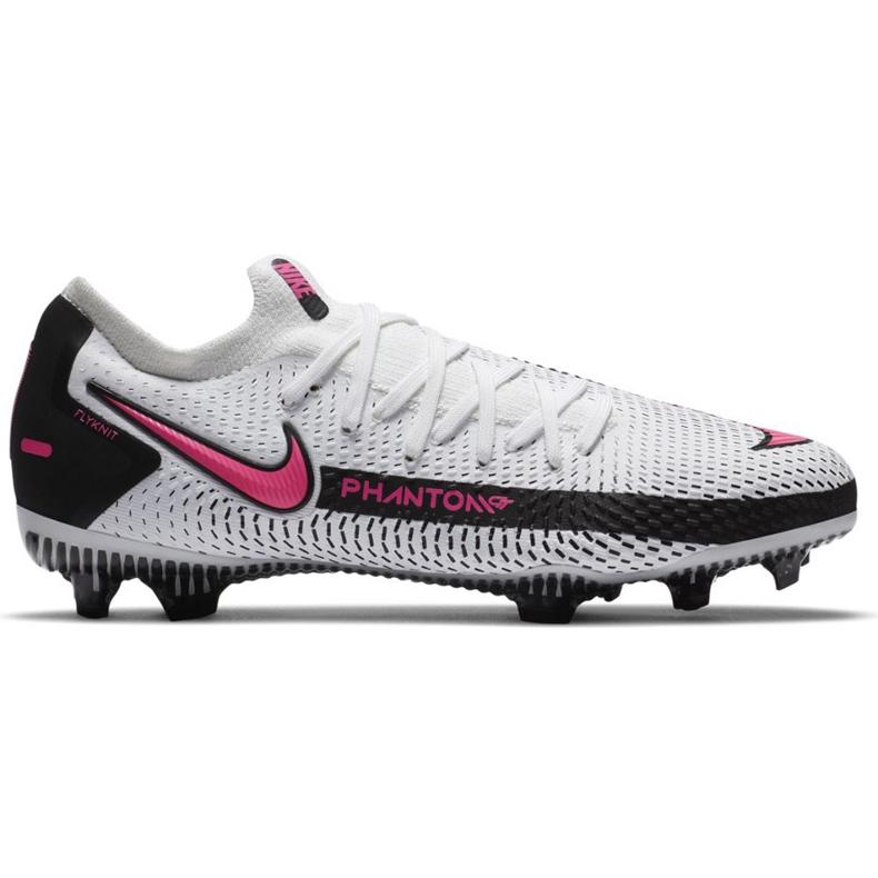 Buty piłkarskie Nike Phantom Gt Pro Fg Junior CK8473 160 białe białe