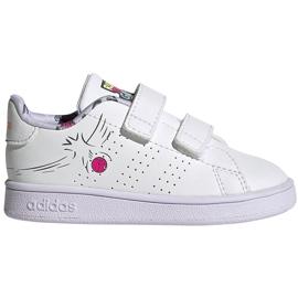 Buty dla dzieci adidas Advantage I białe EG3861
