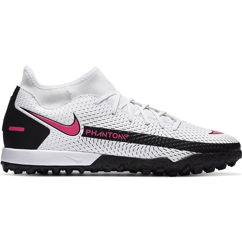 Buty piłkarskie Nike Phantom Gt Academy Df Tf CW6666 160 białe białe