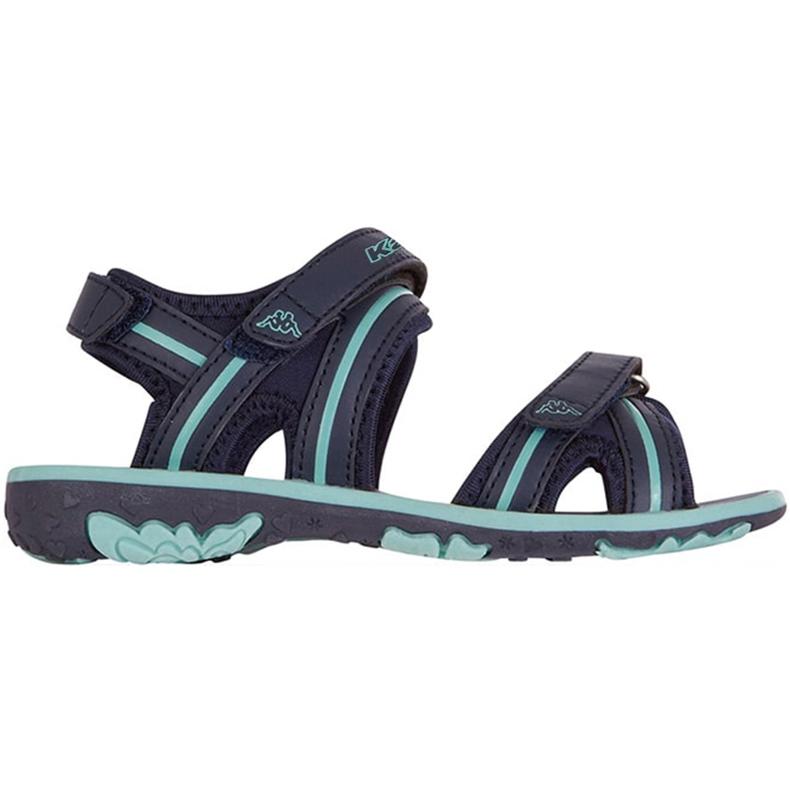 Sandały dla dzieci Kappa Breezy Ii K Footwear Kids granatowo-miętowe 260679K 6737 granatowe