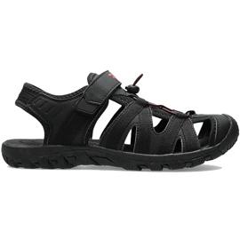 Sandały męskie 4F głęboka czerń H4L20 SAM003 20S czarne