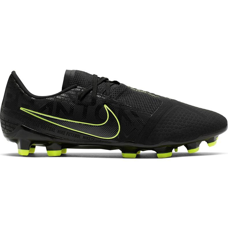 Buty piłkarskie Nike Phantom Venom Pro Fg AO8738 007 czarne czarne