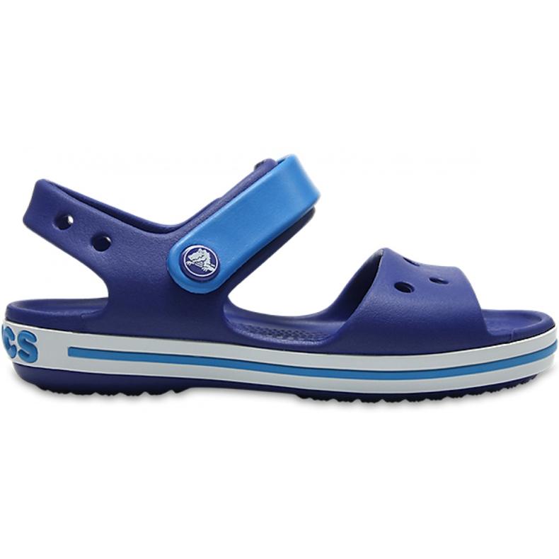 Crocs sandały dla dzieci Crocband Sandal Kids niebieskie 12856 4BX