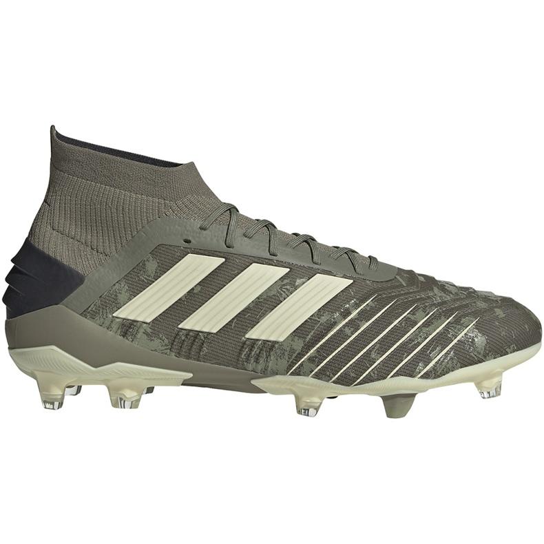 Buty piłkarskie adidas Predator 19.1 Fg EF8205 szare szare