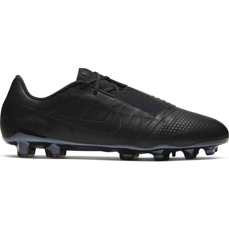 Buty piłkarskie Nike Phantom Venom Elite Tc Fg CJ6319 001 czarne czarne