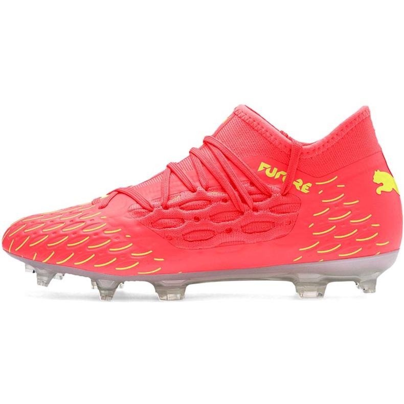 Buty piłkarskie dla dzieci Puma Future 5.3 Netfit Osg Fg Ag 105947 01 żółte