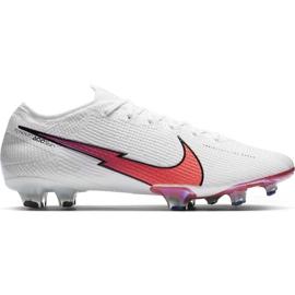 Buty piłkarskie Nike Mercurial Vapor 13 Elite Fg AQ4176 163 białe białe