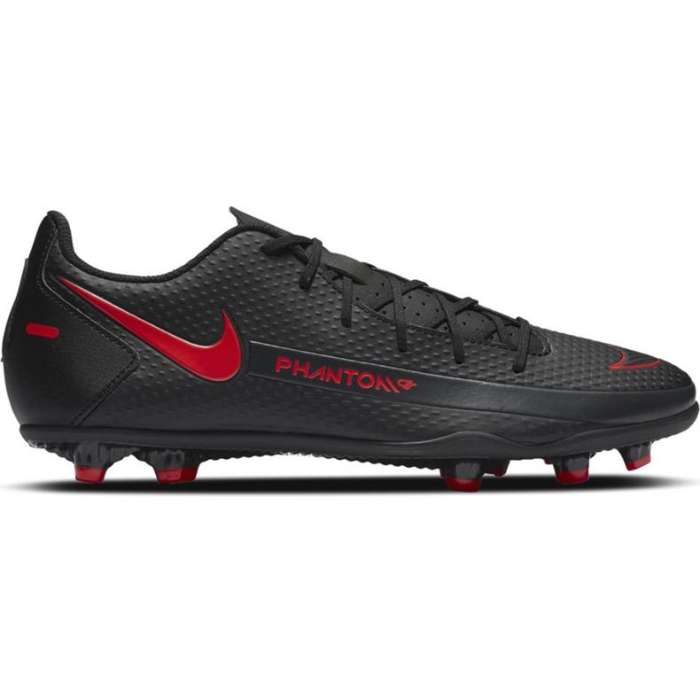 Buty piłkarskie Nike Phantom Gt Club FG/MG CK8459 060 białe czarne