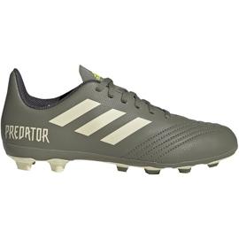 Buty piłkarskie adidas Predator 19.4 FxG Jr EF8221 wielokolorowe szare