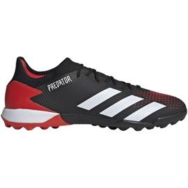 Buty piłkarskie adidas Predator 20.3 Tf EF1996 czarne wielokolorowe