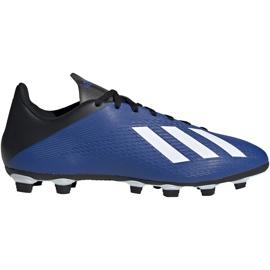 Buty piłkarskie adidas X 19.4 FxG niebieskie EF1698