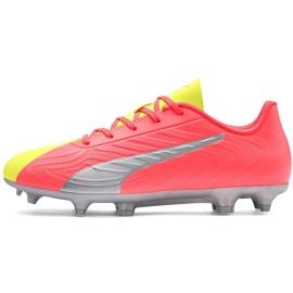 Buty piłkarskie dla dzieci Puma One 20.4 Osg Fg Ag 105973 01 żółte
