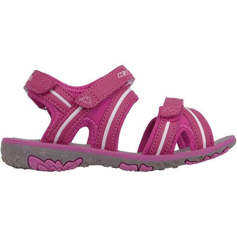 Sandały dla dzieci Kappa Breezy Ii K Footwear Kids różowo-białe 260679K 2210 różowe