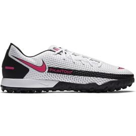 Buty piłkarskie Nike Phantom Gt Academy Tf CK8470 160 białe białe