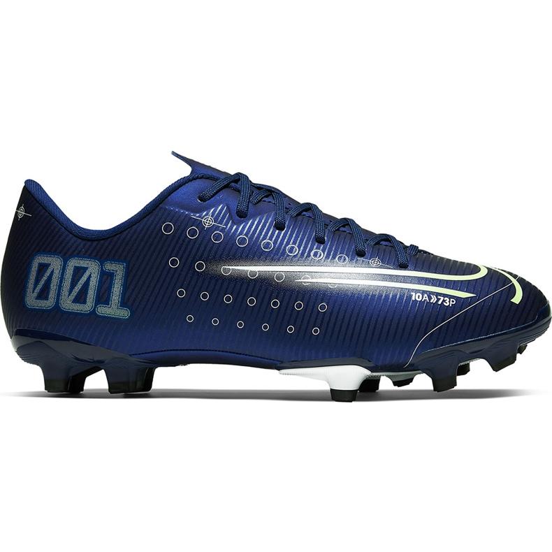 Buty piłkarskie Nike Mercurial Vapor 13 Academy Mds FG/MG CJ1292 401 granatowe granatowe
