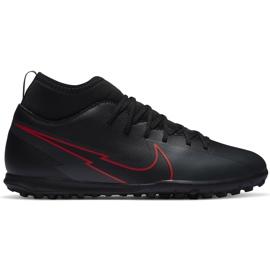 Buty piłkarskie Nike Mercurial Superfly 7 Club Tf Junior AT8156 060 czarne czarne